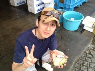 生牡蠣!!!